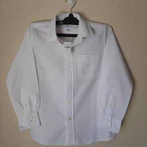 Boy's Gap Classic Oxford White Button Down Shirt